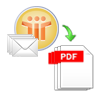 convert notes mails to pdf